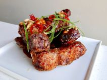 Spicy Fried Baby Back Ribs
